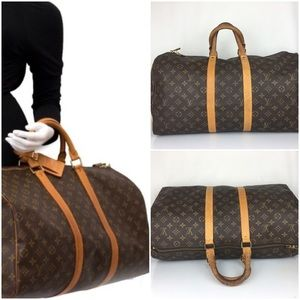 Louis Vuitton 50 Keepall Boston Luggage pre-owner